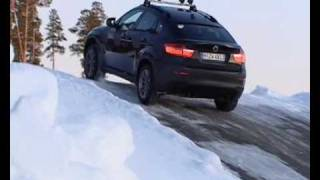 BMW X6 and X5 (2009) Test in Snow