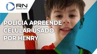 Caso Henry: polícia apreende celular usado pelo menino