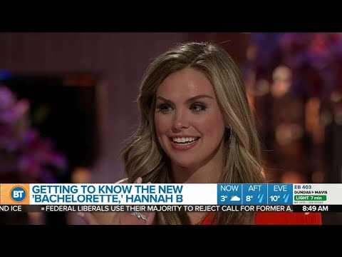 Getting to know NEW Bachelorette Hannah B!