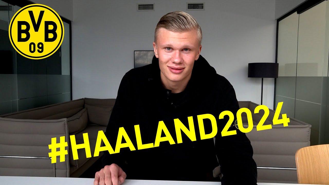 Erling Haaland wechselt zu Borussia Dortmund | #Haaland2024