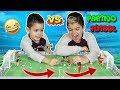 PARTIDO DE FÚTBOL!!! con playmobil
