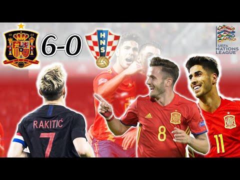 Spain 6-0 Croatia | Croatia's Worst International Defeat Of All Time !!