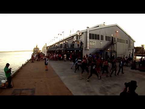 T20 Flash Mob CDU, Darwin, NT, Australia