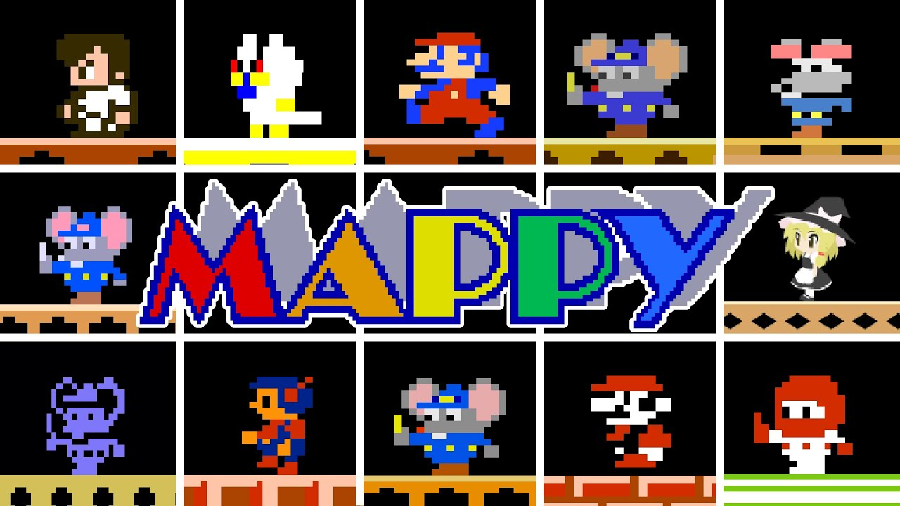 Download Mappy - Clones Comparison - Atari 2600 PUSHED to its LIMITS!!!