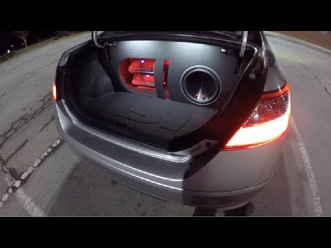 "2009 Honda Civic Si (Alpine Stereo 12"" Type-R Sub Custom Build) + Sound Demo"