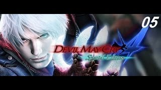 Devil May Cry 4   Special Edition Walkthrough Gameplay mission 05
