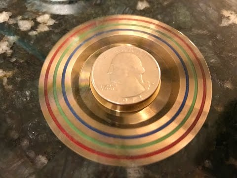 iSpin Brass Metal Hand/Fidget Spinner Review- Premium & Heavy (75g)
