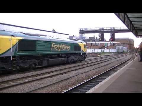 East Coast Main Line Diversions at Lincoln Central - 1st June 2013