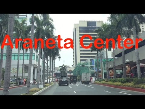 Araneta Center Drive Overview Tour Cubao Quezon City by HourPhilippines.com