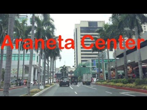Araneta Center Drive Overview Tour Cubao Quezon City by HourPhilippines.com