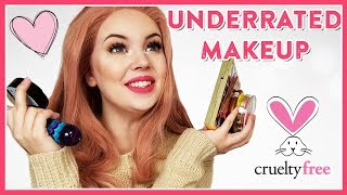 UNDERRATED MAKEUP PRODUCTS (CRUELTY-FREE)