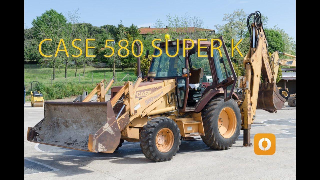 CASE 580 SUPER K backhoe