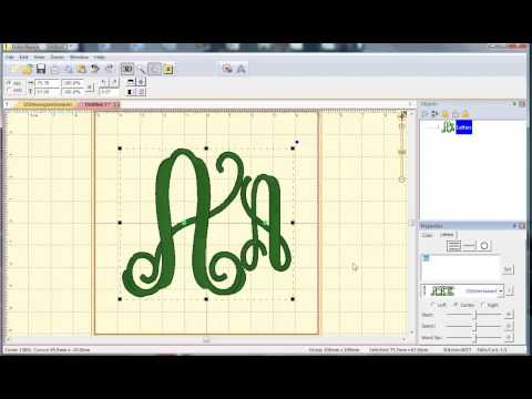 Video 6: How To Use BX Files For Intertwined Vine From The Itch 2 Stitch In Embrilliance