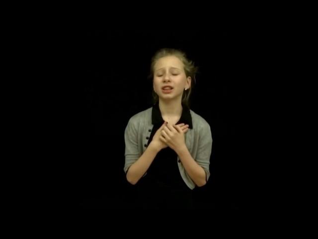 Изображение предпросмотра прочтения – КаринаКрюкова читает произведение «Монолог (Поверь, ничтожество есть благо в здешнем свете…)» М.Ю.Лермонтова