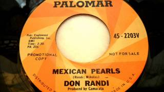 Don randi - Mexican pearls