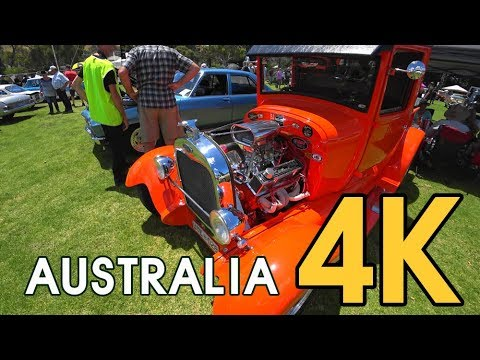 【4K WORLD TOUR AUSTRALIA】 Yankalilla Classical Car Cruise - Place to visit in Adelaide