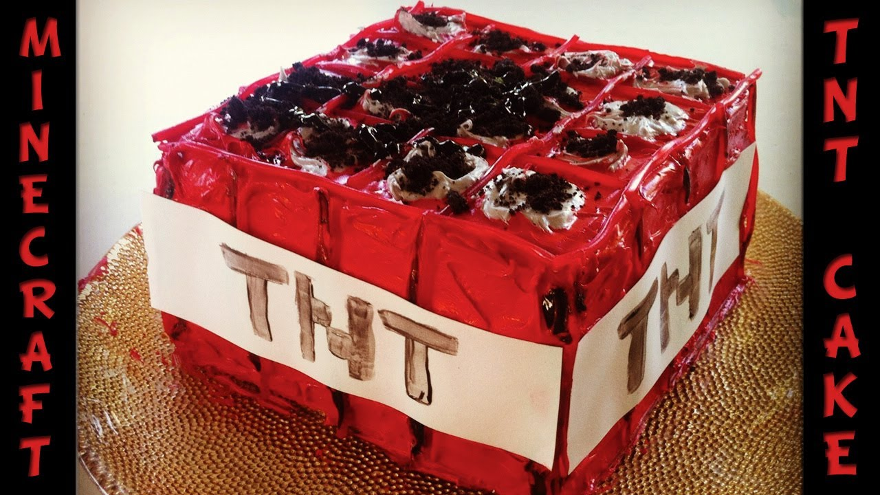 How To Make Minecraft Cake In Real Life