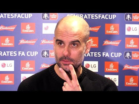 Newport 1-4 Man City - Pep Guardiola Post Match Press Conference *Has To Leave Due To Fire Alarm*