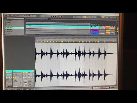 Chopping Breaks in Ableton Live, Jungle / Drum and Bass Programming V1 thumbnail