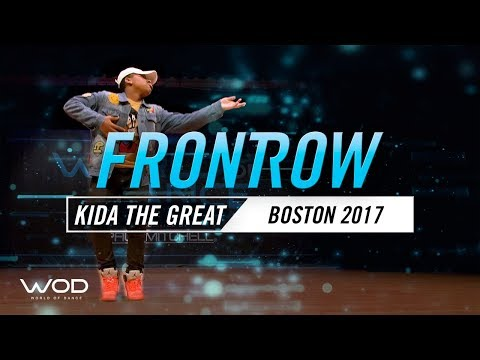 Kida The Great | FrontRow | World of Dance Boston 2017 | #WODBOS17