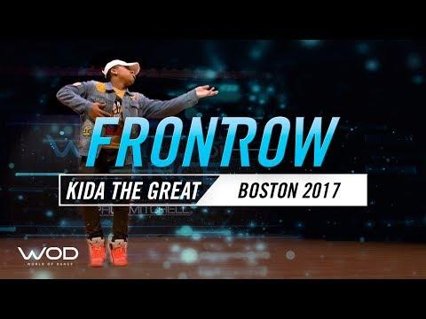 Kida The Great   FrontRow   World of Dance Boston 2017   #WODBOS17