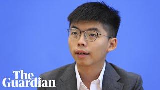 Activist Joshua Wong urges Germany to stop selling arms to Hong Kong police
