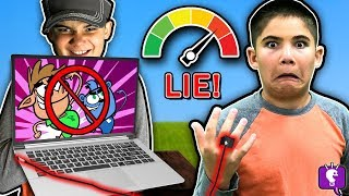 HobbyKids Evil Twins LIE DETECTOR TEST! Who is the Impostor?