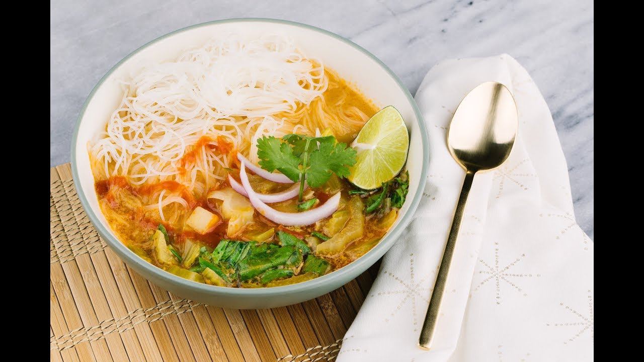 Thai Kitchen Yellow Curry Live It In The Kitchen Thai Curry Soup Youtube