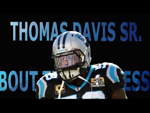 "Thomas Davis Sr. ||""Bout The Business""|| Carolina career highlights"