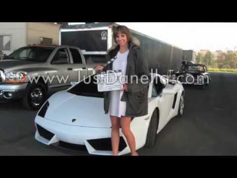 Lamborghini Commercial - Featuring Model Danella Lucioni (behind the scenes)