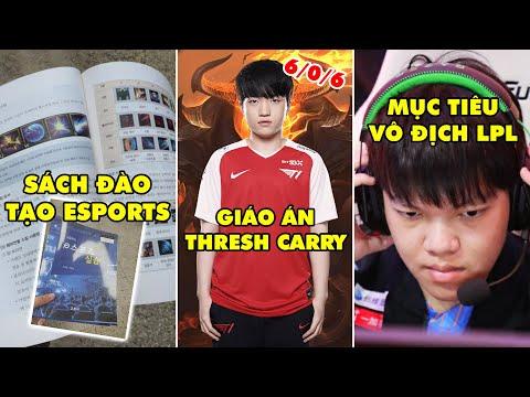 """TIN NÓNG 533: T1 Keria chia sẽ cách chơi Thresh carry - Học sinh Hàn phản đối sách """"đạo tạo Esports"""""""