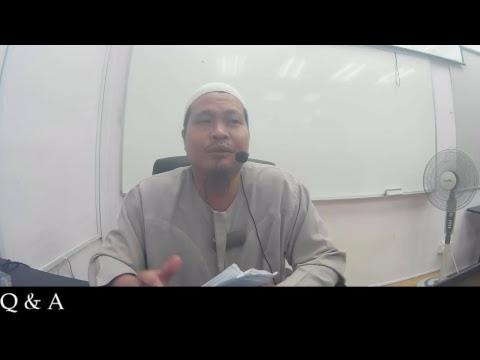 Syarah Sahih Muslim oleh Ustaz Murad Said 31 July 2017