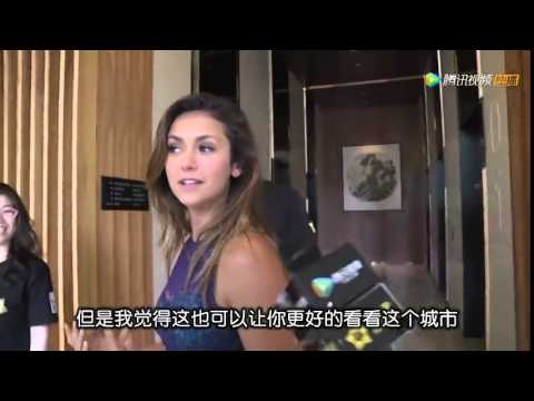 Nina Dobrev Interview in Beijing, China