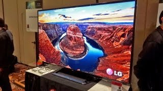 Behold LG's Gigantic 4K TV for $20,000 - CES 2013