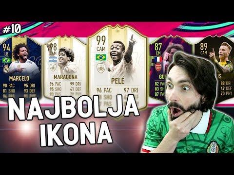DOBIO SAM NAJBOLJU KARTICU U FIFI!! Draft To Glory #10 FIFA 19