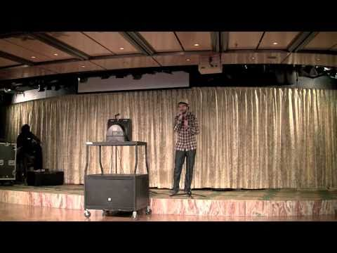 luke sings karaoke on a cruise ship