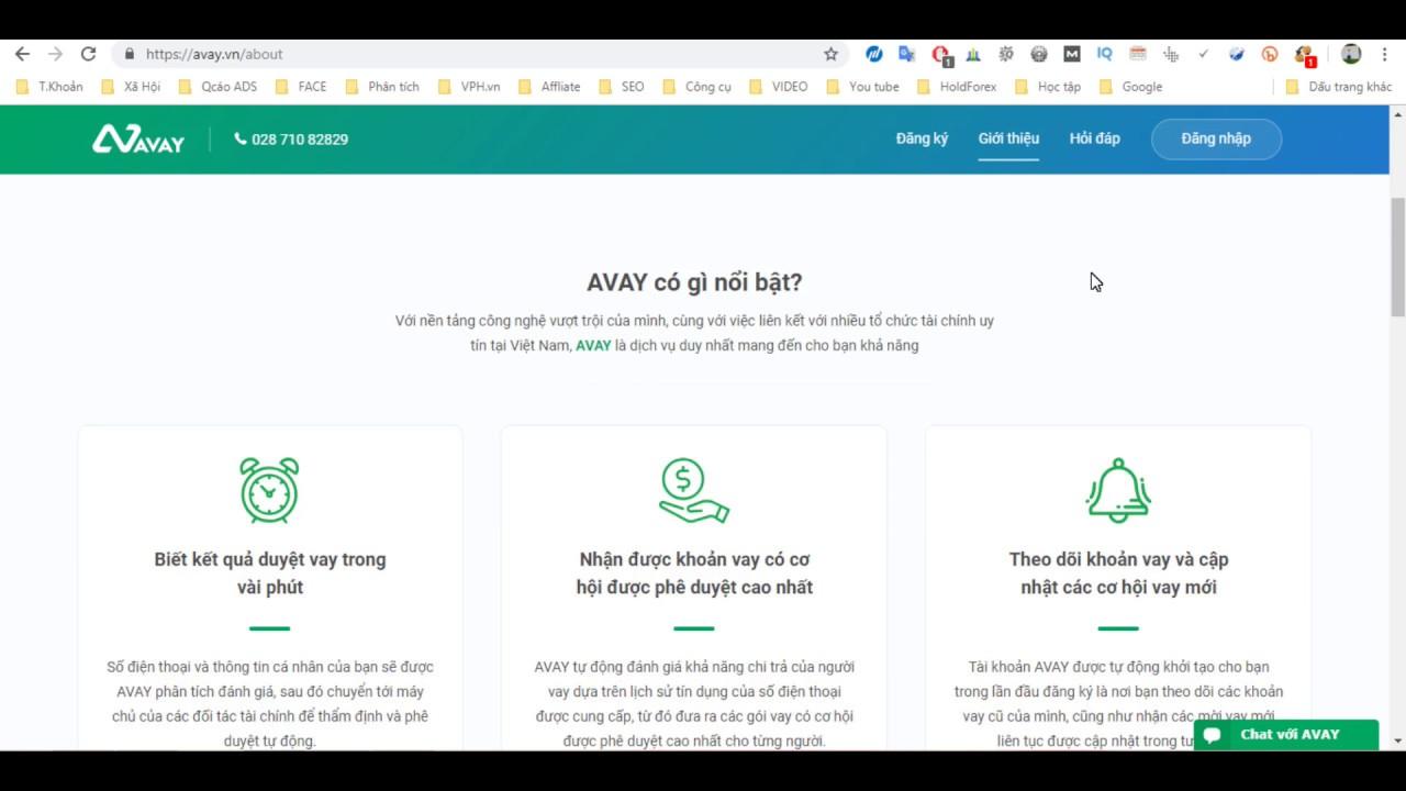 Hướng dẫn vay tiền Online tại Avay