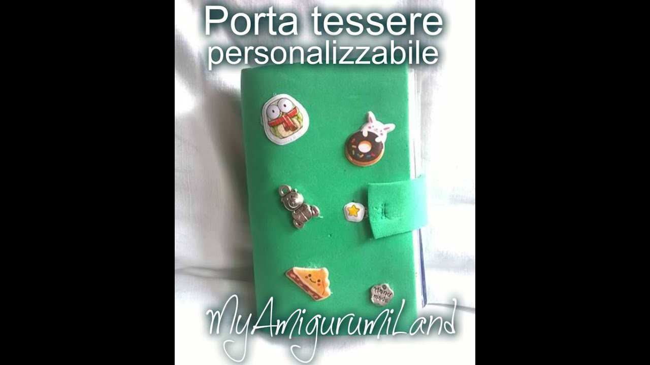 Exceptionnel Porta tessere Homemade :) - YouTube IW28