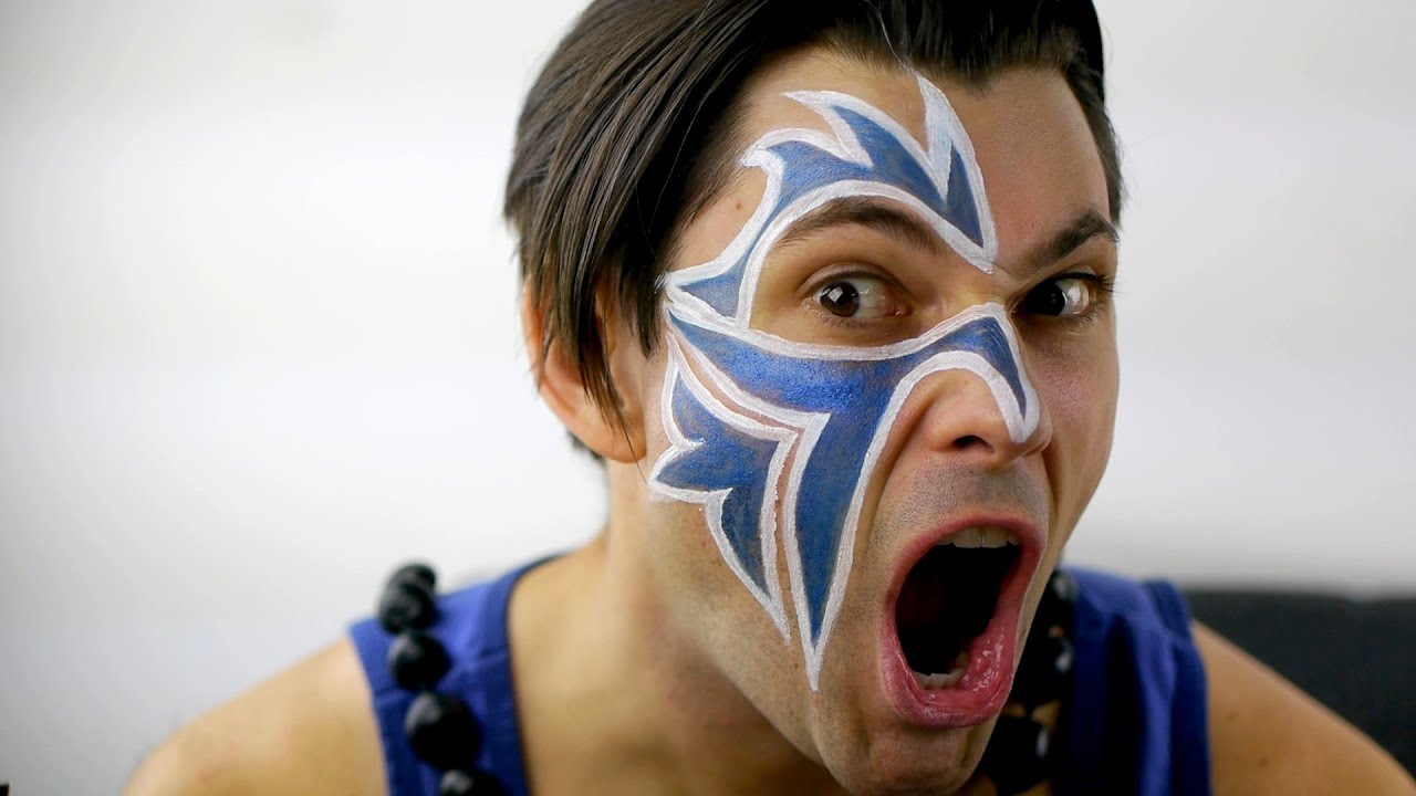 Pictures Of The Usos Face Paint