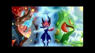 Ash Greninja evolution (THEME SONG) Pokémon XY/XYZ