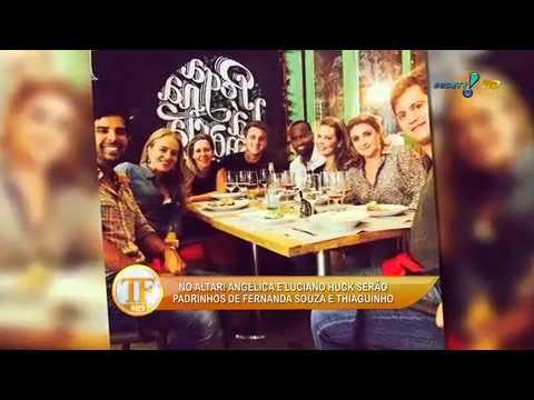 Babi Rossi E Lucas Lucco Curtem Show Juntinhos - TV Fama 20/03/2014