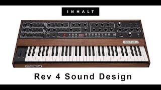 Sequential Prophet 5 Rev4 INHALT Sound Design of Factory Patches Demo