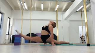 Oversplits Training 3