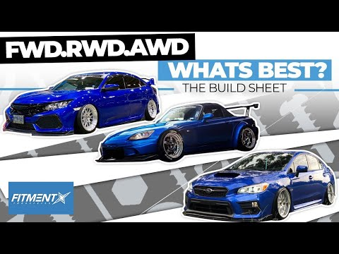 FWD Vs RWD Vs AWD Cars Whats Best? | The Build Sheet