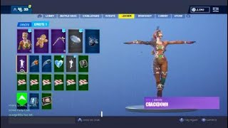 50 min of the nut cracker emote in fortnite