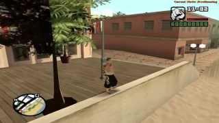 [GTA SA] Parkour mod 2.1 First Person 2015