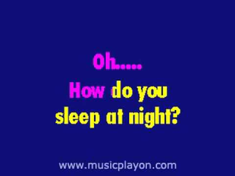John Lennon   How Do You Sleep - karaoke sing-a-long