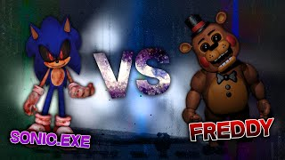 FREDDY FAZBEAR VS SONIC.EXE RAP | CarRaxX ft. Mc Energy