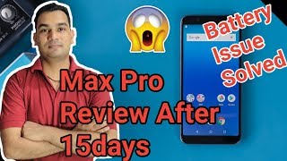 Asus Zenfone Max Pro M1 15Day Review | Battery Problem Solve Tips In Hindi