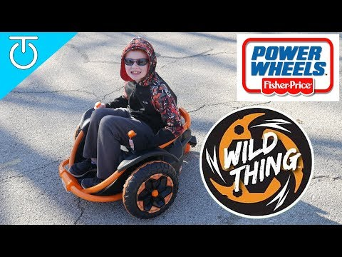 Power Wheels Wild Thing Ride On Toy Review (2018) - Fisher Price